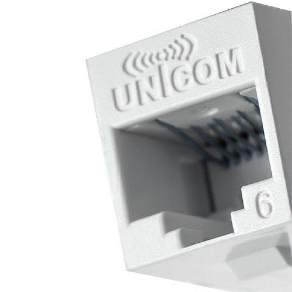 کیستون شبکه CAT 6 UTP یونیکام  UC-JCK6 1