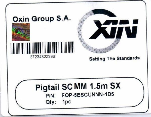 پیگتیل ۱٫۵ متری مالتی مود SC اکسین 1