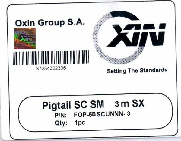 پیگتیل ۳ متری سینگل مود SC اکسین 1