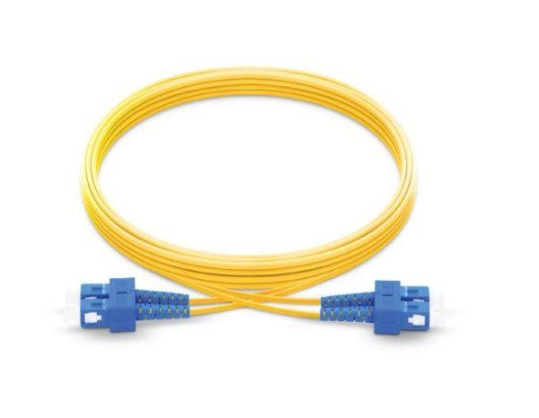 پچ کورد فیبر نوری ۳ متری - SC-SC سینگل مود - اکسین 1
