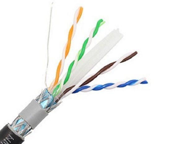 کابل شبکه اوت دور نگزنس - دابل ژاکت  CAT 6 SFTP Outdoor NEXANS 1