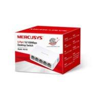 سوییچ شبکه 5 پورت مرکوسیس مدل MS105