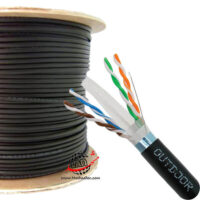 کابل شبکه اوتدور نگزنس CAT6 SFTP Outdoor دابل ژاکت تست فلوک