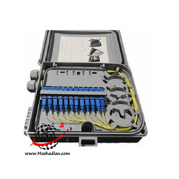 باکس FAT فیبر نوری 12 کور FAT BOX 12 Core